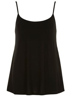 Black jersey cami - Tops & T-Shirts  - Clothing