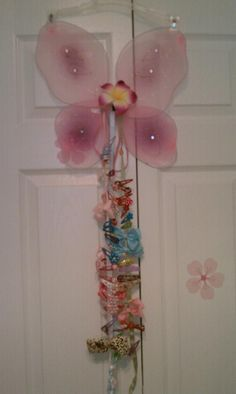 Made this for my daughter to keep up with all her hair barrettes