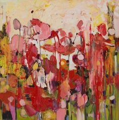 """Stunning expressive painting by contemporary artist Donna Andreychuk. """"Take Notice"""" At Westland Gallery, London ON."""