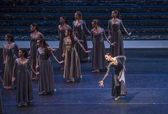 Zorba, el griego. Ballet de Santiago. Marina: María Lovero. Foto: Patricio Melo