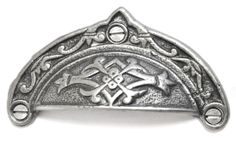 Pagan Tie Drawer Pull - A beautiful drawer pull made from cast iron. Unsurpassable British quality.