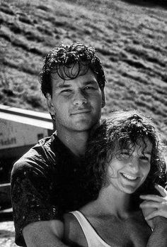Patrick Swayze & Jennifer Grey. #DirtyDancing one of my fav movies of all time