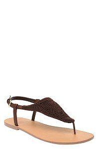 #My TorridSummer Benefit Brown Crochet Sandals (Wide Width) | Torrid Summer