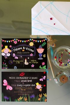 ben and holly's little kingdom party invitations