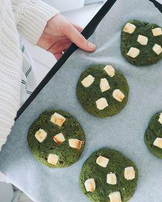 Cookies au matcha et pépites de chocolat blanc - Recette Kumiko Matcha