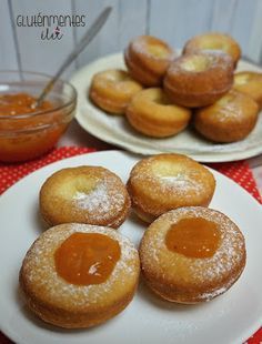 Gluténmentes fánk Hungarian Desserts, Dairy Free, Gluten Free, Pretzel Bites, Bread, Minden, Food, Glutenfree, Sin Gluten