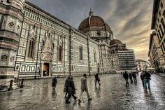 Firenze è bella anche se piove