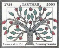 Zartman family tree
