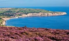 Robin Hoods Bay from Rasvenscar, North Yorkshire