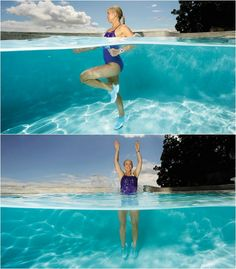 Pool time! Give this ultimate fat-blasting water workout a try this summer.
