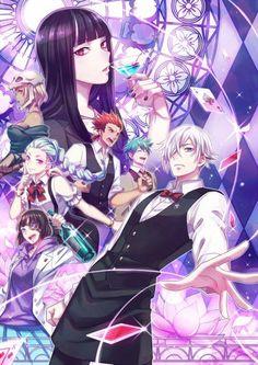 Fanmade/Fanart Anime & Manga, Death Parade, Decim, Chiyuki