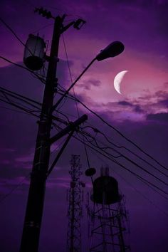paisaje urbano Fuck Yeah Welcome to Night Vale! Dark Purple Aesthetic, Violet Aesthetic, Picture Wall, Photo Wall, Night Vale Presents, Rauch Fotografie, Glow Cloud, The Moon Is Beautiful, Night Aesthetic