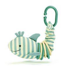 This is the brand new Spring 2014 Little Jellycat Sidney Shark Clicketty. Size: 15cm (6ins). Price: £8.95 (GBP).