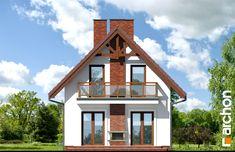 Dom w sasankach Home Fashion, Cabin, House Styles, Model, Home Decor, Brick Homes, Homemade Home Decor