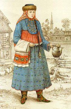 Татарская женщина