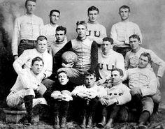 University of Utah football team in 1892. Courtesy of University of Utah Athletics U Of U Football, Utah Utes Football, Football Program, Vintage Football, College Football, University Of Utah, Salt Lake City Utah, Great Team, Sports Photos