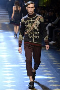 Défilé Dolce & Gabbana Automne-hiver 2017-2018 16