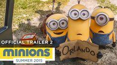 Minions - Official Trailer 2 (HD) - Illumination