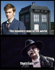 Although, gotta say...I think the Doctor wins, as much as I love POTO. I mean, 900 years of losing people you love...and not getting bitter, to boot. Yeah, the Doctor wins. Sorry, Phantom. ;)