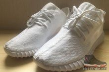1650be3ce Adidas Yeezy Boost 350 all White new arrival in stock