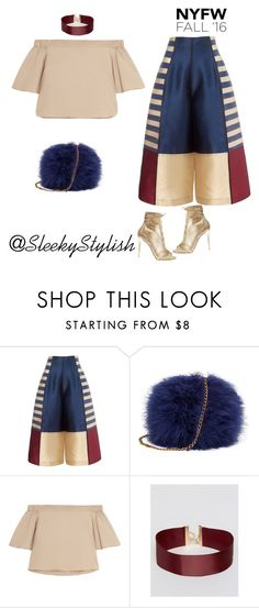 """NYFW16"" by sleekstylish ❤ liked on Polyvore featuring TIBI, ASOS and Gianvito Rossi"