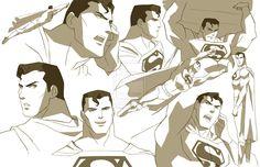 SUPERMAN JL:DOOM (2011) by philbourassa