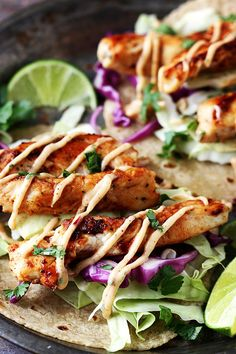 Jamaican Jerk Chicken Tacos Here is a quick easy dish that is sure to please. We recommend you try Jamaican Jerk Chicken Tacos by LeCremedelaCrumb.com. For the original post and recipe click HERE. …