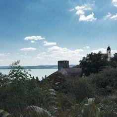 Balaton: my watercolour lake | Epic Street Style  A fave spot at beautiful Lake Balaton: Tihany peninsula #balaton #lake #hungary #travel #vacay #europe #view #landscape #magic #mytinyatlas