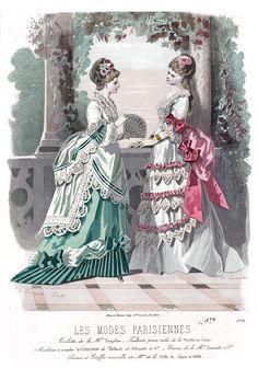 1873 Les Modes Parisiennes