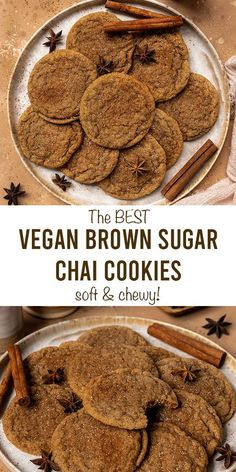 Vegan Christmas Desserts, Vegan Christmas Cookies, Dairy Free Christmas Recipes, Vegan Christmas Dinner, Easy Vegan Cookies, Vegan Treats, Dairy Free Egg Free Cookies, Vegan Dessert Recipes, Baking Recipes