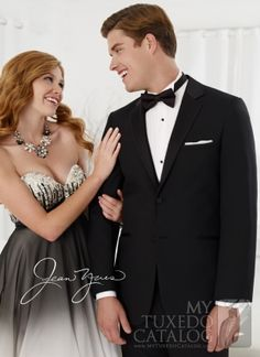 Black 'Twilight' Wedding Tuxedo