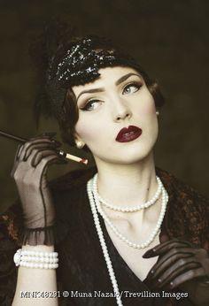 Trevillion Images - 1920s-woman-with-cigarette