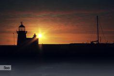 Sunrise over Howth Lighthouse