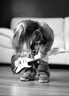 rock on lil dude!