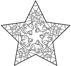 """One of my Father's Day Star Card designs with rotational symmetry. This one says on the front """"A little bird told me that you are a...."""" The inside reads """"...5 star Dad!"""""""