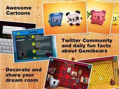Gemibears for iPad Screenshot