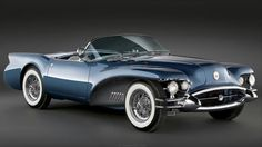 There are only two 1954 Buick Wildcat IIs. The original in the Sloan Museum, and this remarkable recreation.