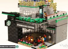 LEGO Ideas - LEGO Starbucks Cafe (Modular)
