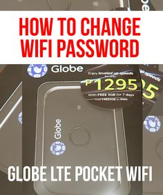 Globe LTE Pocket Wifi This is the newest LTE Pocket Wi-Fi (Huawei released by Globe Telecom. Globe Telecom, Pocket Wifi, Wifi Names, Wifi Password, Change, Technology, Tech, Tecnologia