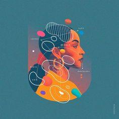 Best Illustration Graphic Design Samples