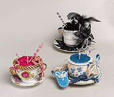 CUP OF CLASS PIN CUSHIONS