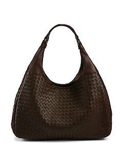 Bottega Veneta - Intrecciato Leather Hobo Bag