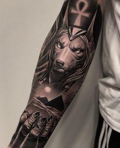 Carismático Login Likes, 22 Comments - ⚜️ ᴛᴀᴛᴛᴏᴏ ᴀʀᴛ. Egyptian Eye Tattoos, Egyptian Tattoo Sleeve, Wolf Tattoo Sleeve, Forearm Sleeve Tattoos, Best Sleeve Tattoos, Forearm Tattoo Men, Tattoo Sleeve Designs, Leg Tattoos, Body Art Tattoos