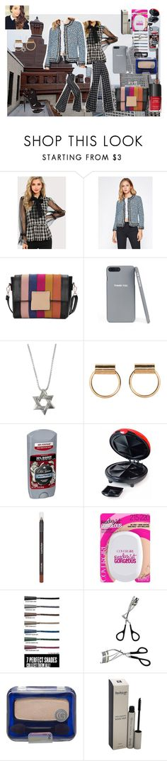 """""""A Detroit state of mind."""" by naomig-dix ❤ liked on Polyvore featuring Guide London, Old Spice, Nostalgia Electrics and COVERGIRL"""