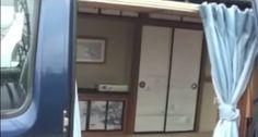 Japanese Zen Van Dwelling in a Converted Micro Van