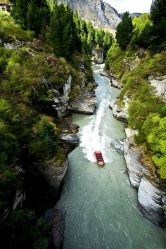 Shotover Jet, New Zealand