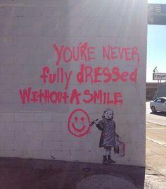 ...ein tag ohne lächeln ist ein verlorener tag!