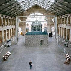 Atelier W110 | Réalisation de l'aspect extérieur de l'œuvre en collaboration avec l'artiste / UGO RONDINONE HOW DOES IT FEEL ? - le 104 - Paris 19ème -