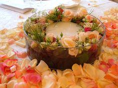 Rose e petali con candela di Bonini Fiori di Alessandro Bonini | Foto 15