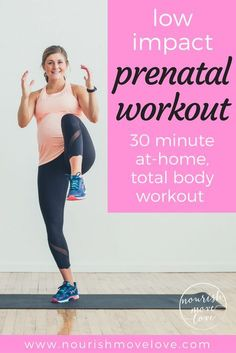 Low impact strength and cardio workout for beginners, pregnancy, post partum, naptime, and those recovering from injury! This 30 minute workout is a no equipment workout you can do at home or at the gym! Cardio Hit, Beginner Cardio Workout, 30 Min Workout, Prenatal Workout, Pregnancy Workout, Workout For Beginners, Workout Challenge, Workout Postpartum, First Trimester Workout